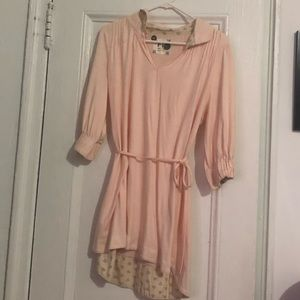 Free people belted tunic size M